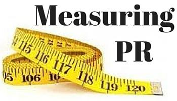 measuring PR