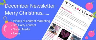 December newsletter from Sussex marketing agency
