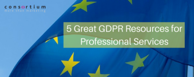 GDPR Resources for Professional Services