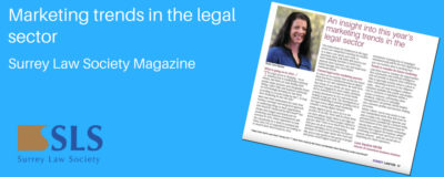 Marketing trends in the legal sector