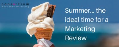 Summer marketing review
