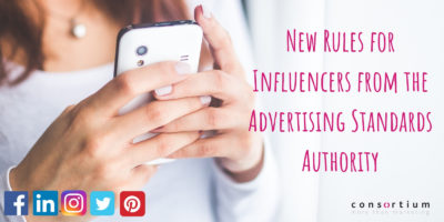New Rules for Influencers from the Advertising Standards Authority