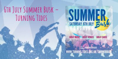 Turning Tides Summer Busk 6th July & Volunteer Appeal