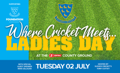 Where Cricket Meets Ladies Day – 2nd July 2019