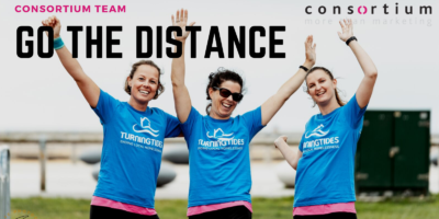 Consortium team 'Go the Distance' for Turning Tides