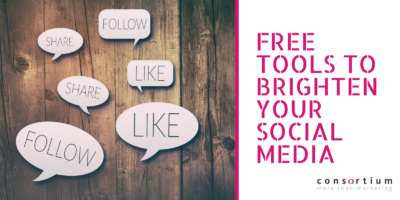Free tools to brighten your social media posts