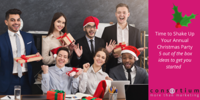 Time to Shake up Your Annual Christmas Party