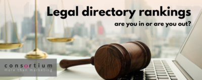 Legal directory ranking