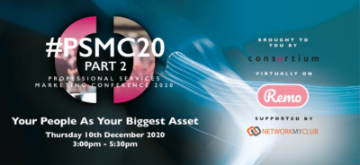 PSMC20 part 2 - Your people as your biggest asset